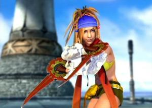 Rikku, Age: 17. Dressphere: Thief.