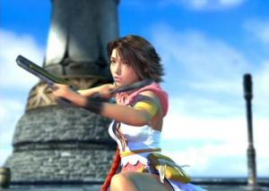 Yuna, Age: 19. Dressphere: Gunner.