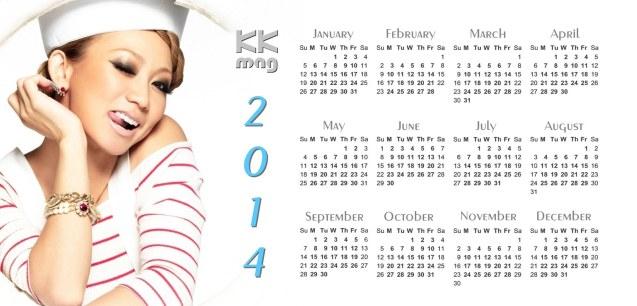 Koda Kumi Bon Voyage Calendar 2014_1