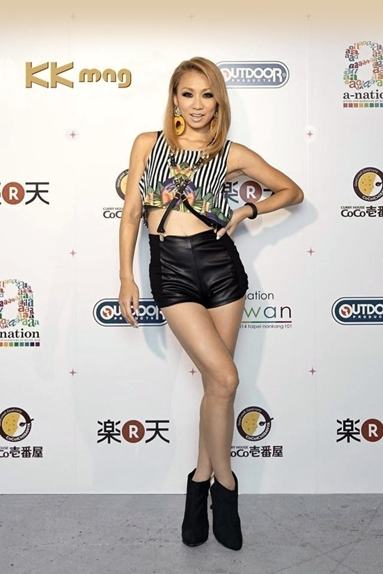 Koda Kumi a-nation Taiwan 2014_001-s
