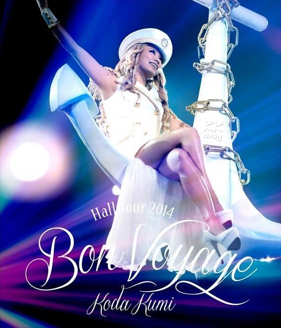 Koda Kumi Hall Tour 2014 - Bon Voyage - LIVE_Blu-ray