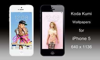 Koda Kumi iPhone 5