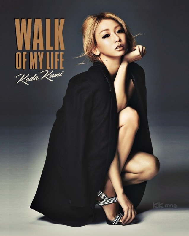 """Koda Kumi WALK OF MY LIFE – KK mag Edition_1"" ""WALK OF MY LIFE""  on the 12th studio album by Koda Kumi.  Artist: Koda Kumi (倖田 來未)  Song: WALK OF MY LIFE  Genre: Ballad, Pop Release date: March 18, 2015; ""Download"""