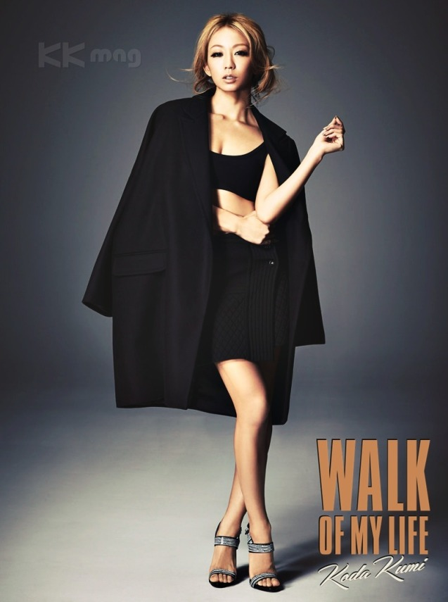"""Koda Kumi WALK OF MY LIFE – KK mag Edition_2"" ""WALK OF MY LIFE""  on the 12th studio album by Koda Kumi.  Artist: Koda Kumi (倖田 來未)  Song: WALK OF MY LIFE  Genre: Ballad, Pop Release date: March 18, 2015; ""Download"""