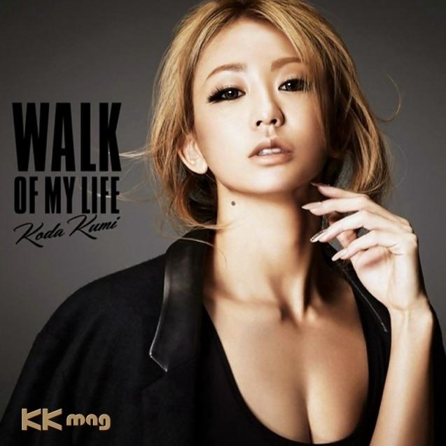 """""""WALK OF MY LIFE""""  on the 12th studio album by Koda Kumi.  Artist: Koda Kumi (倖田 來未)  Song: WALK OF MY LIFE  Genre: Ballad, Pop Release date: March 18, 2015 """"Download"""";"""